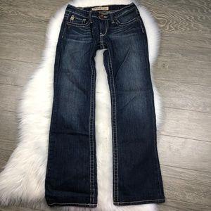 BIG STAR Boot Cut Jeans Dark Wash
